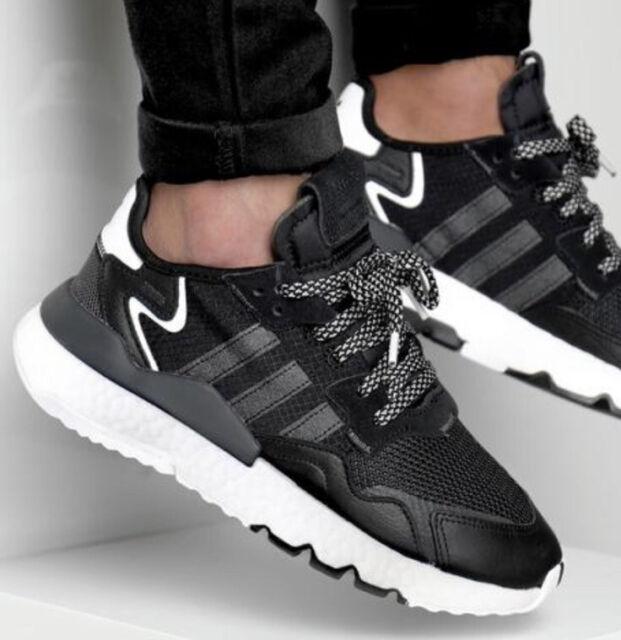 Size 13 - adidas Nite Jogger Core Black