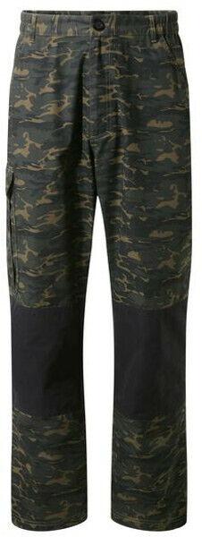 CRAGHOPPERS  Discogreen Adventure Mens Camo Cargo  Walking Trousers