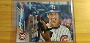 2020-Topps-Series-1-Ryne-Sandberg-SP-Variation-Card-306-Chicago-Cubs