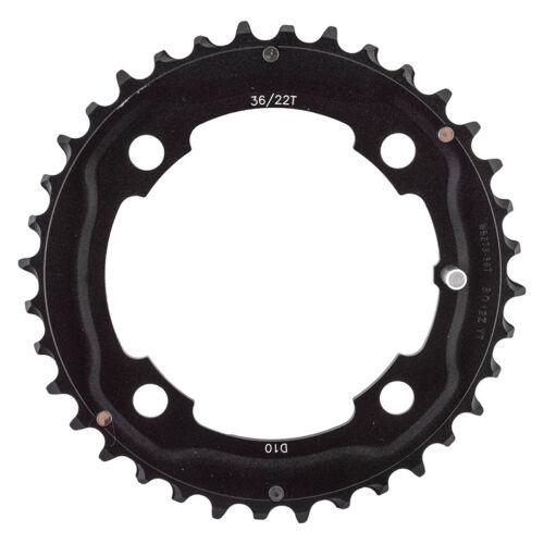 FSA Pro ATB 104 x 36 t 9//10 Vitesse Chainring Black