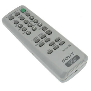 New Rm Sgp5 Remote For Sony Audio Cmt Ep313 Cmt Ep315 Cmt