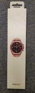 Samsung Galaxy Watch3 SM-R850 41mm Stainless Mystic Bronze Bluetooth PRISTINE