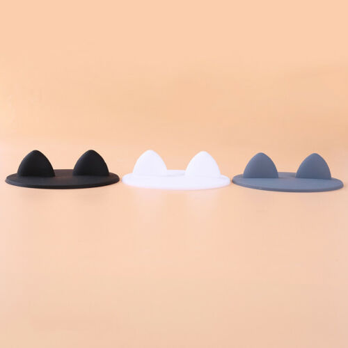 Reusable Silicone Rabbit Ear Cup Lid Dust Proof Thermal Insulation Cup Cover Mug