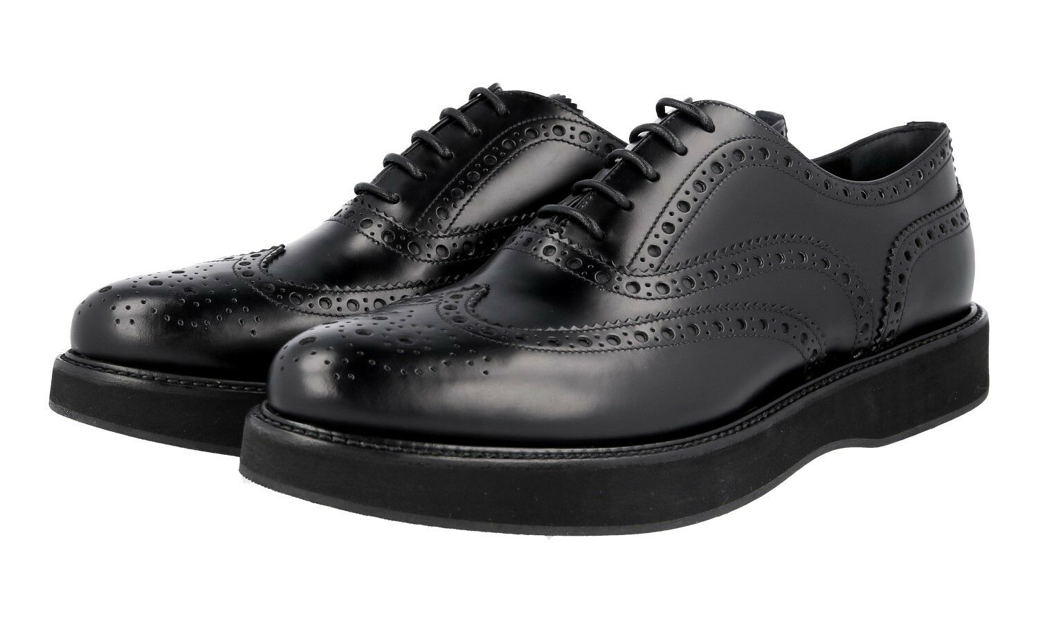 zapatos CHURCH'S LUXUEUX A740219 negro NOUVEAUX 40 40,5 UK 7