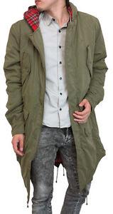 Merc Tobias Fishtail Parka Men 4 Pockets custom fit coat jacket ...