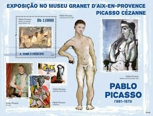 Punctual Paintings Of Pablo Picasso Painting Sao Tome 2009 S/s Mnh Sc 2198 #st9606b Art Stamps