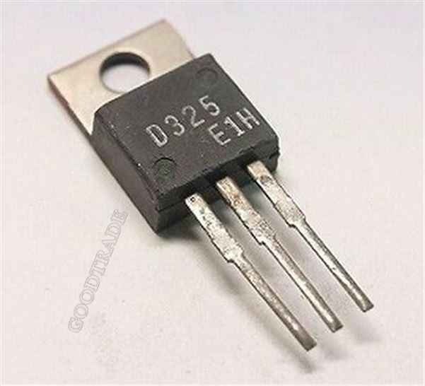 5 x 2sd667a NPN Silicon Transistor for audio frequency AP HITACHI to-92l 5pcs