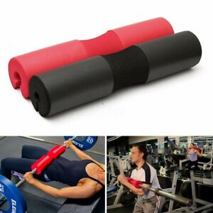 Foam-Padded-Barbell-Bar-Pad-Cover-For-Squat-Weight-Lifting-Shoulder-Back-new