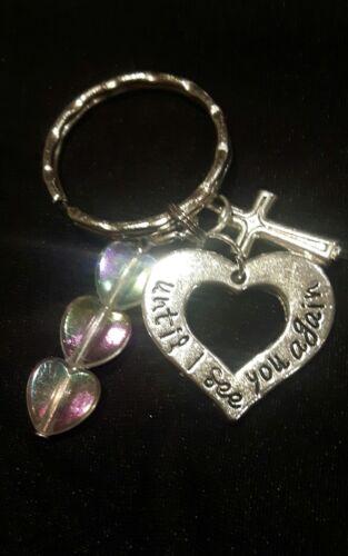 Bereavement memorial charm keyring mum dad child baby wife husband remember SIDS
