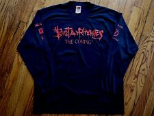 572376884 1996 BUSTA RHYMES the coming vintage 90s rap hip hop T-shirt elektra promo  XL