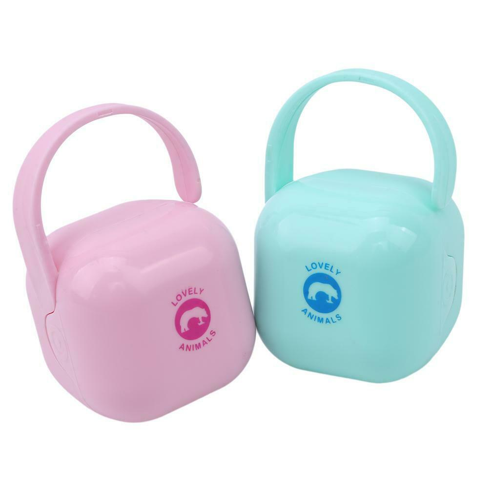 Baby Infant Kids Travel Soother Pacifier Dummy Storage Case Box Cover Holder Y
