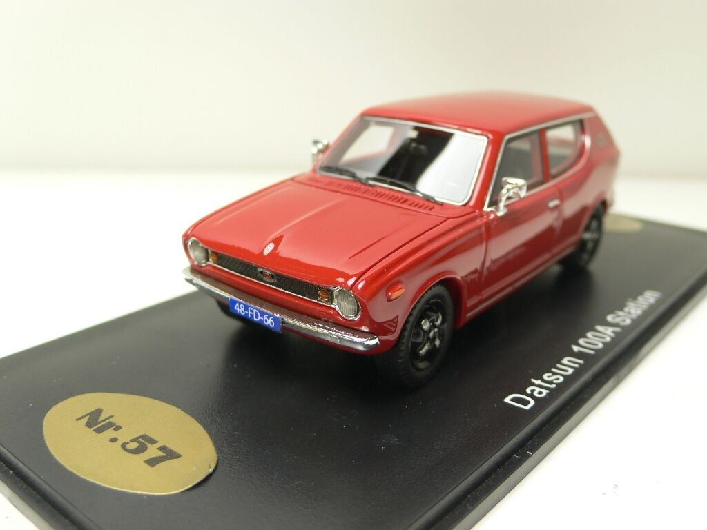 DATSUN 100A STATION ROOD oroEN OLDIES BEV1075 1:43