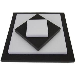 schaumstoff zuschnitt rg25 platte auch als schallschutz ebay. Black Bedroom Furniture Sets. Home Design Ideas