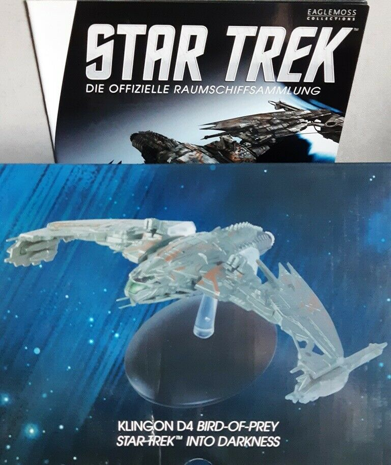 STAR TREK Official Starships  4 Klingonischer Bird-of-Prey Modell Eaglemoss deut