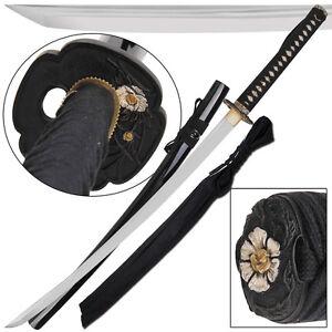 Details about Symbol of Protection Traditional Japanese Samurai Handmade  1090 Katana Sword