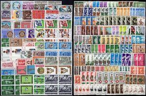 Repubblica-Lotto-di-333-francobolli-1958-77-Nuovi-MNH