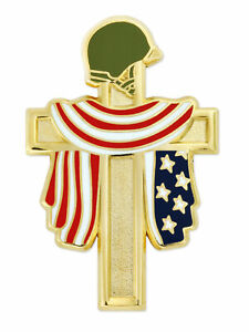 PinMart United States Veteran Suit Lapel Stick Tie Pin Jewelry