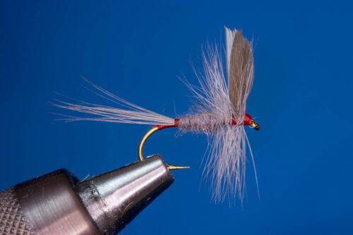 Geflügelte Iron Blue Dun Fliegentom 3 Stück Trockenfliege