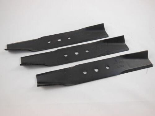 3 Messer für Husqvarna Rider 850 30 cm 531 00 50-11 5310050-11 506 67 65-01