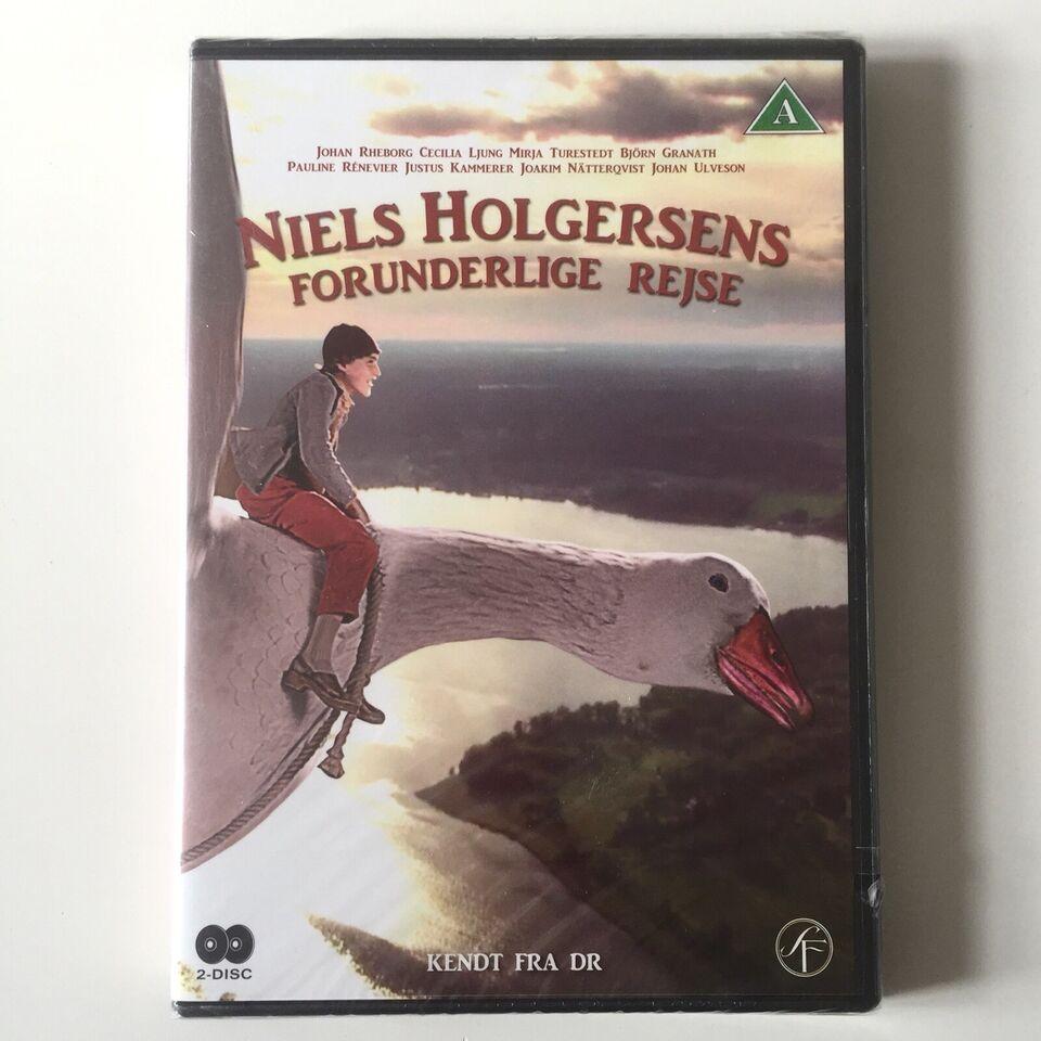 Niels Holgersens Forunderlige Rejse - i ubrudt fol, DVD,