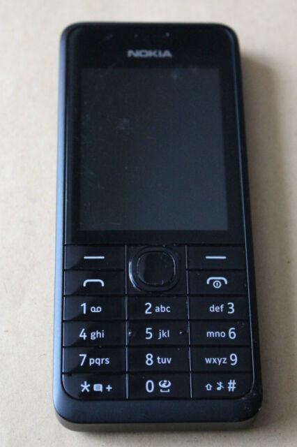 Nokia 301 - Black (Unlocked) Mobile Phone Good Condition