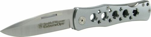 Smith /& Wesson Exteme Ops Aluminum Folder CK6AEU *NEW*