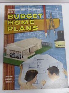 AUSTRALIA HOUSE GARDEN BUDGET PLANS MID CENTURY 1960 ...