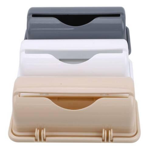 Wall Mounted Garbage Bag Storage Organizer Holder Container Kitchen Bathroom LP