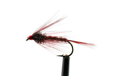 6 or 12x Blue Dun Wet Flies for Brown /& Rainbow Trout Fly Fishing 3