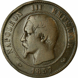 458316-Coin-France-Napoleon-III-10-Centimes-1857-Lille-F-12-15-KM