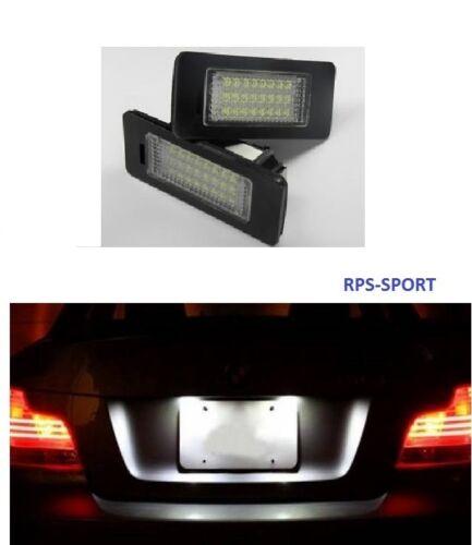 ECLAIRAGE LED XENON FEUX DE PLAQUE IMMATRICULATION ARRIERE BMW 335i E92