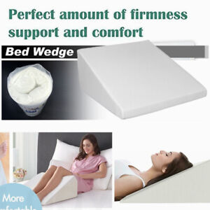 7 5 Quot Orthopedic Contour Wedge Support Bed Sleeping Pillow