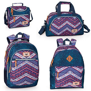 El-Charro-ETHNIC-DENIM-Girls-School-Bag-Backpack-Rucksack-Travel-Lunch-Bag