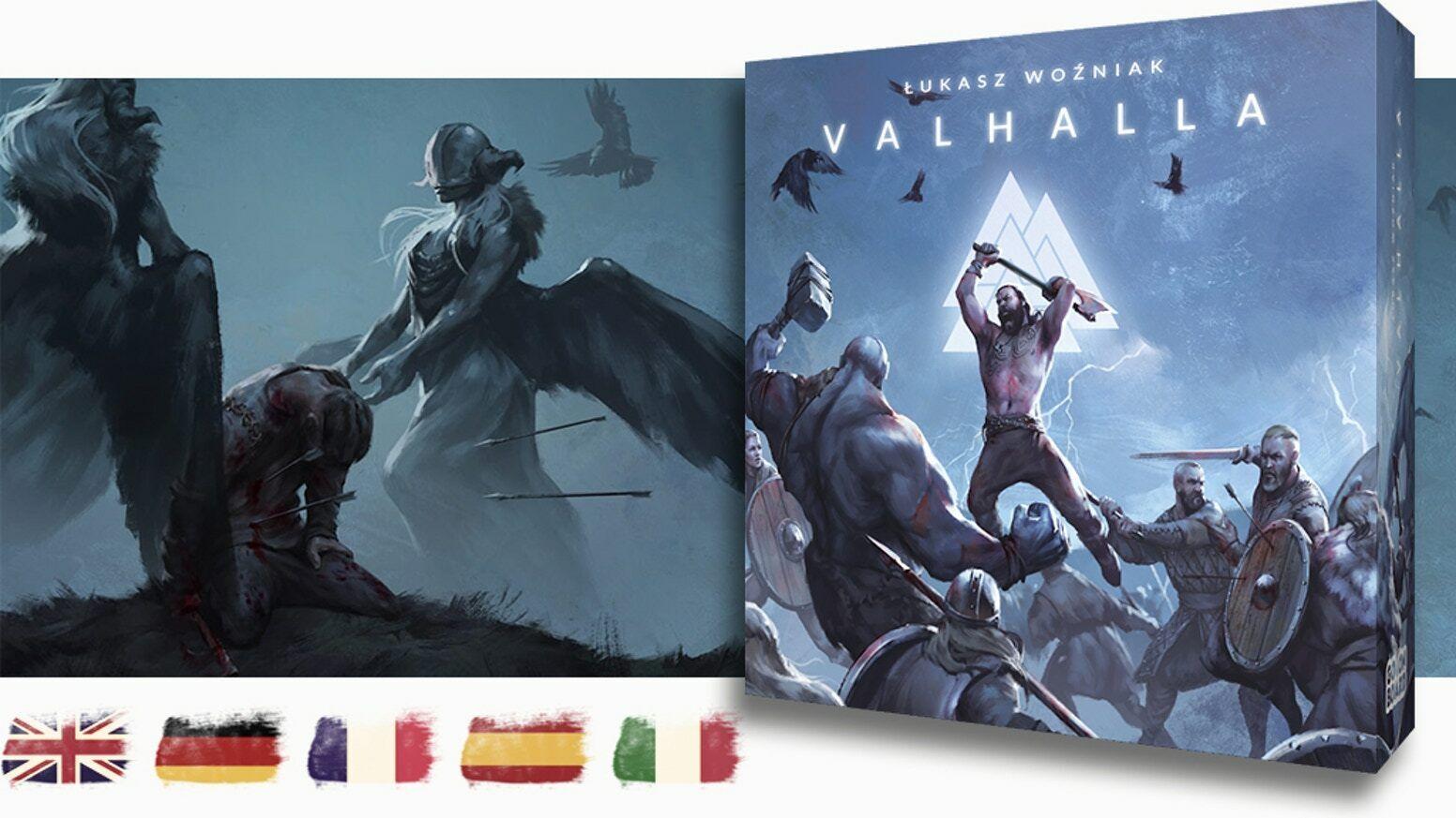 Presale  Valhalla Deluxe exklusives Kickstarter-Versprechen von von von Go On Board 06c