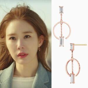 STONE HENGE I0160 Touch Your Heart Korea Drama 14K Rose Gold K POP TVN A Arafeel