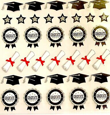 Graduation Congrats Stickers Planner Papercraft Party Journal Teacher Supply