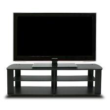 Furinno 11191BK THE Entertainment Center TV Stand Black
