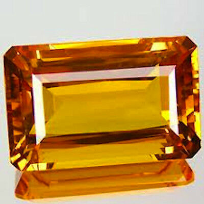Masterpiece Collection: Octagon Genuine (Natural) Golden Citrine (5x3-14x10)