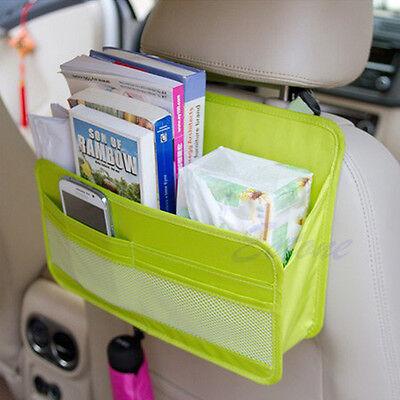 Car Seat Back Multifunction Travel Pocket Storage Bag Hanger Organizer Holder