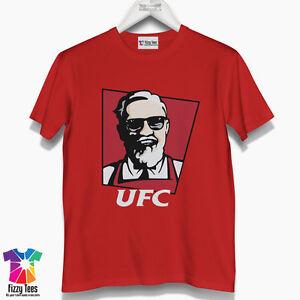 9fb204ec Conor McGregor T-Shirt - MMA Boxing Fight Men's T-Shirt UFC not KFC ...