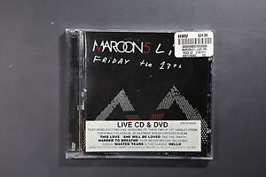 Maroon-5-Live-Friday-The-13th-VGC-CD-REF-TS