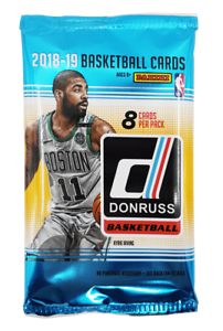 2018-19-Panini-Donruss-NBA-Basketball-1-Factory-Sealed-Retail-Pack-8-Cards