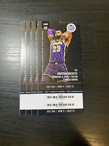 Houston Rockets @ Los Angeles Lakers-February 6, 2020 ...