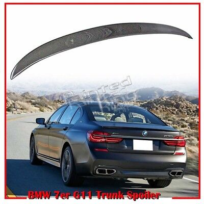 PAINTED BMW G11 G12 7-SERIES 4D Saloon A Type Trunk Spoiler Wing 2016up