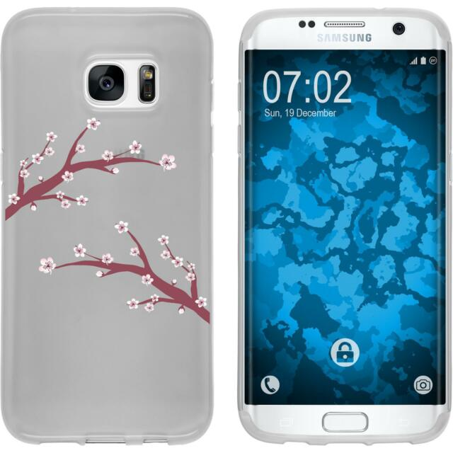 Case for Samsung Galaxy S7 Edge Silicone Case Easter M1 + protective foils