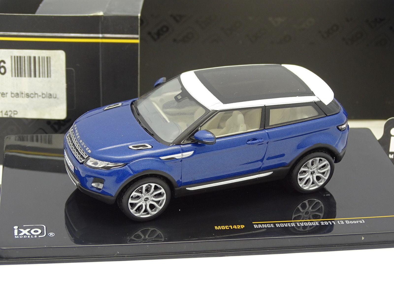 Ixo 1 43 - Range Rover Evoque 2011 Bleue