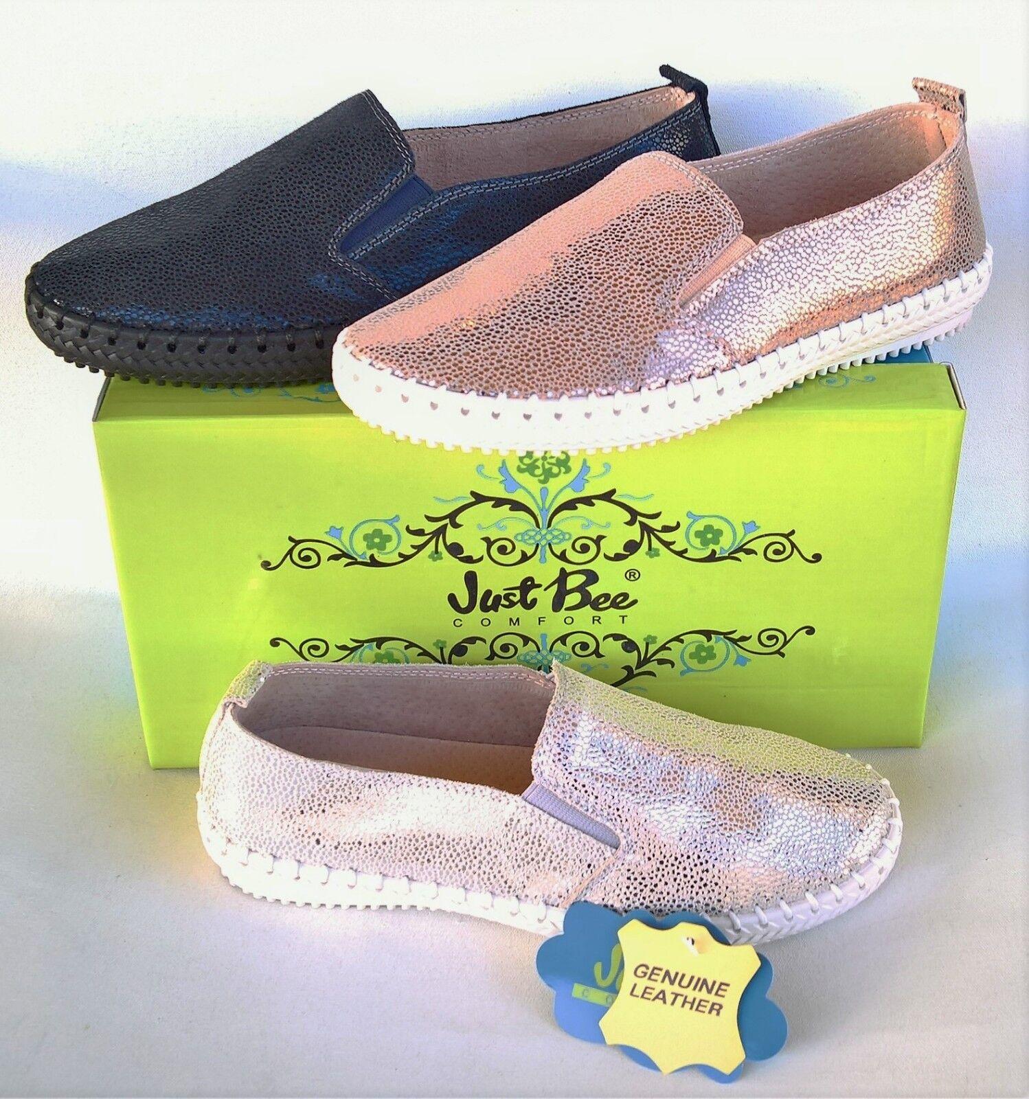 Leather  slip su appartamenti comfort Solo Bee scarpe Coble  all'ingrosso a buon mercato