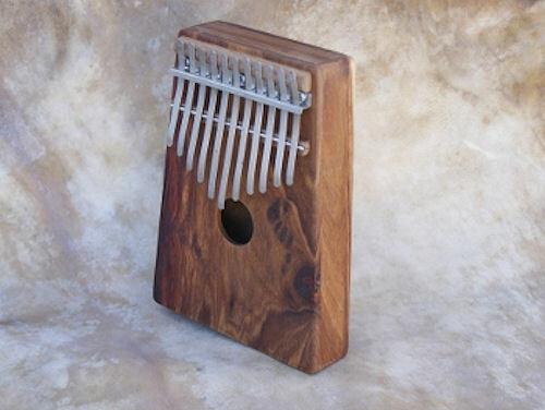 Hugh Tracey® Alto Pentatonic Kalimba Box ohne Pickup - 11 Zungen