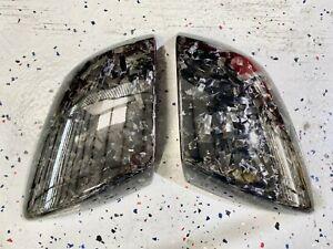 Lamborghini Huracan Forged Carbon Mirror Covers Gloss Finish