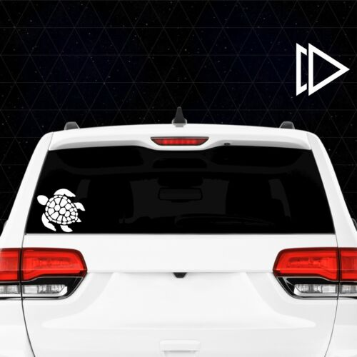 Nature Sea Animal Cute Salt Life Ocean Turtle Vinyl Car Laptop Decal Sticker
